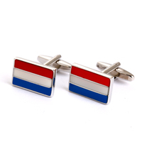 Russian flag cufflinks and other region enamel cufflinks suit shirt cufflinks