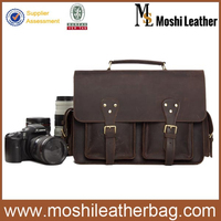 7145 Vintage Real Leather Camara Case for DSLR Camara
