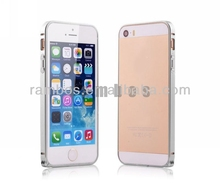 Aluminum Metal Bumper Mobile Phone Case Cover Shell for iPhone 5 5s