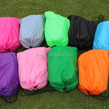 Factory Direct Sale High Quality Inflatable laybag sleeping Lazy Bag, Inflatable Hangout Lazy Bag Sofa