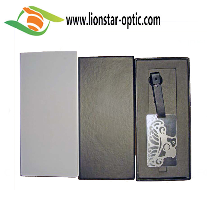 Factory Wholesale Customized PU Luggage Tag, Suitcase Tag Widely Applied in Travel and Life PU Leather Luggage Tag