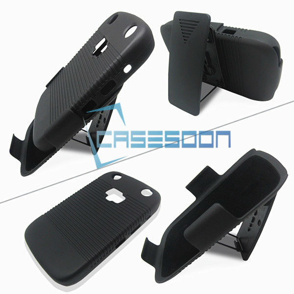 Hard Holster Combo Case for BlackBerry Curve 9320 With Stand