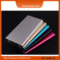 Automatic Mobile Charger 8000mah aluminum case for promotion gifts power bank
