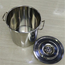 stainless steel large cooking pot commercial stock pot/soup pot utensils for kitchen