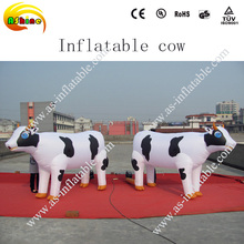 Hot selling giant inflatable cow,inflatable animal