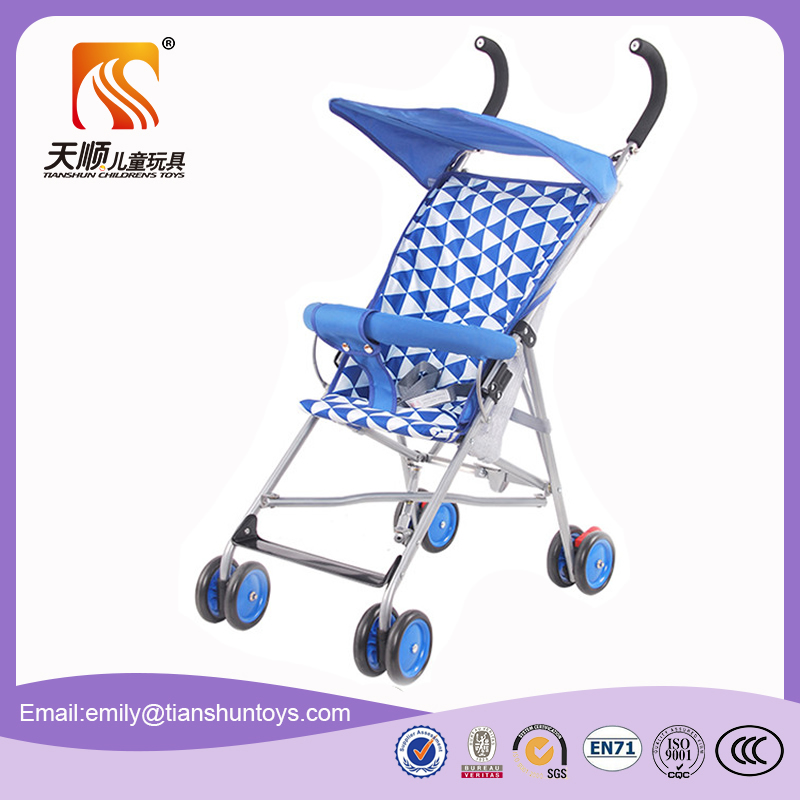 Light weight good baby doll umbrella stroller with cheap price from manufacturer