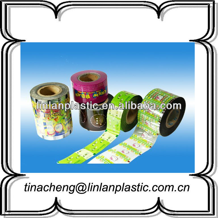 custom print plastic candy wrapper candy foil wrappers