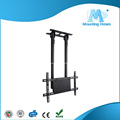 Black cold rolled steel lcd plasma tv wall support projector ceiling mount