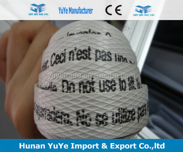 Printing letters PP strapping band for auto strapping machine