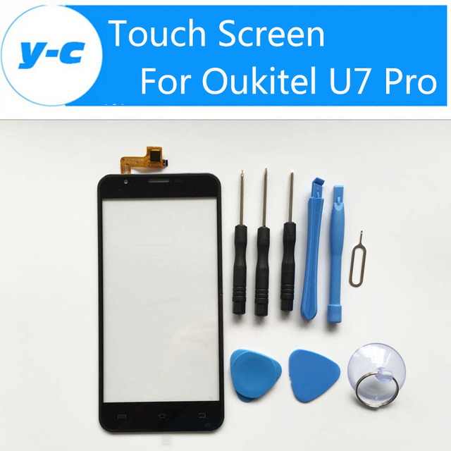Oukitel U7 Pro Touch Screen 100% Original Repair Parts Touch Panel Screen For Oukitel u7 Pro Smart Phone