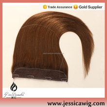 Top grade high quality flip in 100% human hair extension