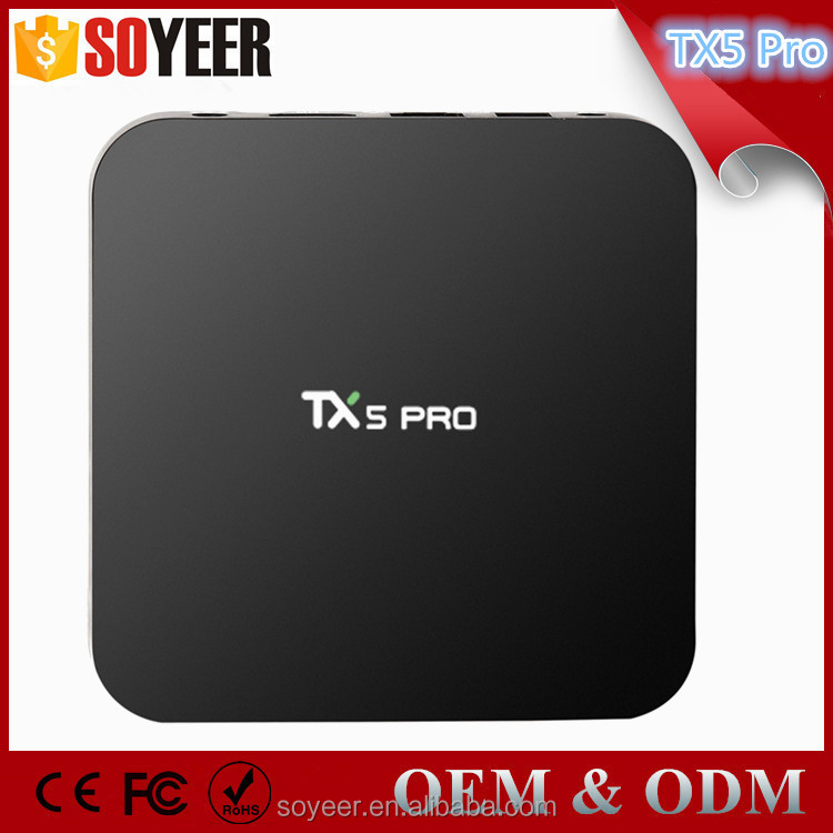 Soyeer Original 2G 16G T5X Pro S905X Android 6.0 Marshmallow Tv Box 4K Int Box I7