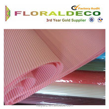 Corrugated paper roll corrugated paper flower wrapping wholesale