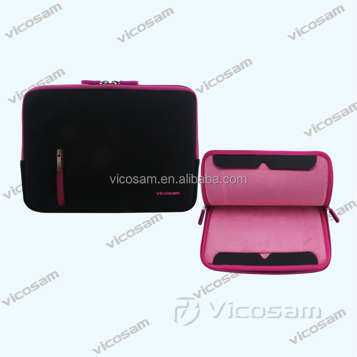 New arrival waterproof case for macbook air with good price, EVA bubble pad tablet sleeve case with stand