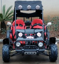 2 seat beach buggy with 110cc engine for kids