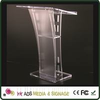 glass pulpit Customized Size Customer's Logo Accepted