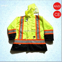 Waterproof Oxford Material Reflective Safety Jacket for Men