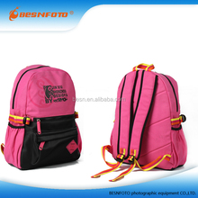 Pink Jacquard Laptop Bag Sports Backpack for School, Daily Use or Travelling