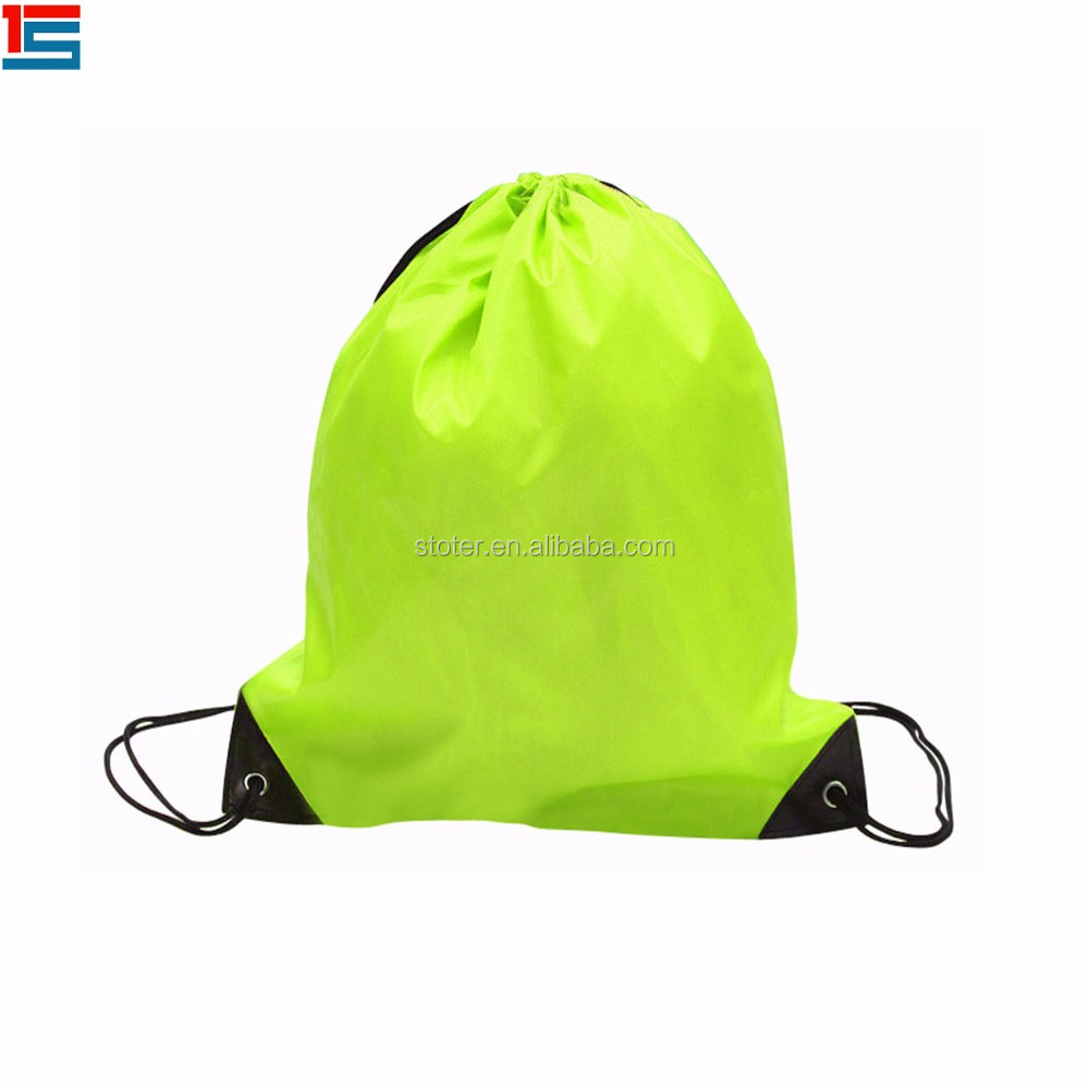 High quality kid drawstring bag backpack pouch bag drawstring