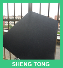 flame retardant black hdpe leather textured sheet, plastic board