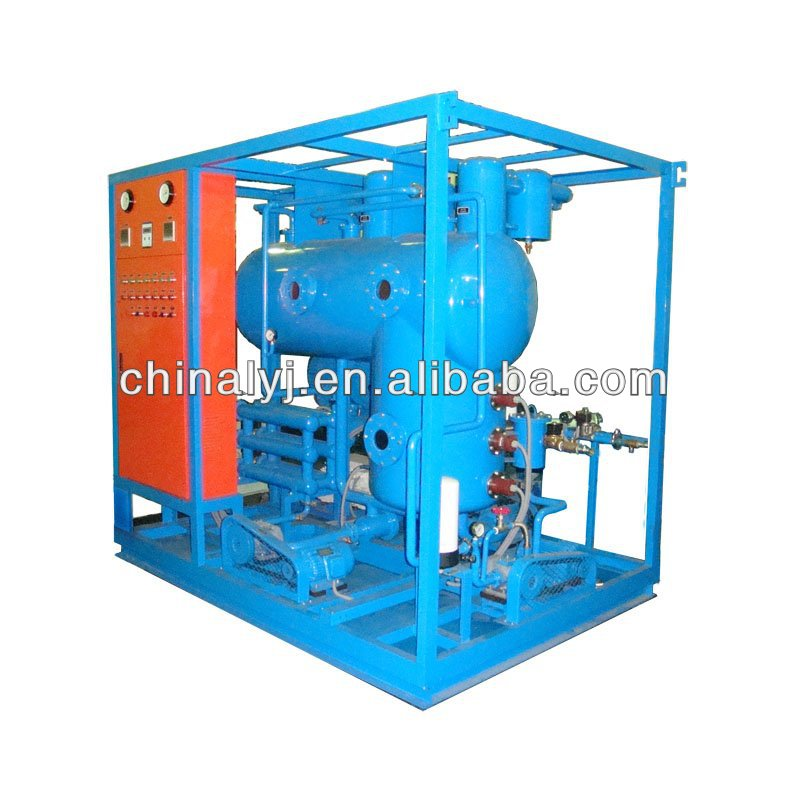 Double stage vacuum transformer oil cleaning equipment for oil refinery