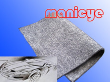 Auto Car Interior Decoration Fabric with 100% Polyester