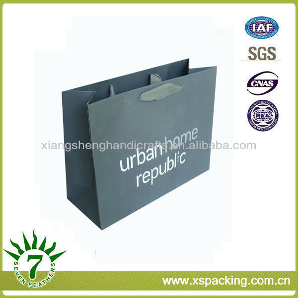 Bespoke Urban Home Republic Luxury Style Decorative Printing & Packaging Series Paperboard Gift Recycled Shpping Paper Bags