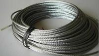 2mm 6mm 304 stainless steel wire rope in stock