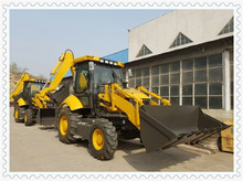 8ton 3CX backhoe loader dubai original manufacturer with deutz engine and carraro electric transmission