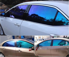 1.52*30m High heat resistance colorful rainbow chameleon car window solar film