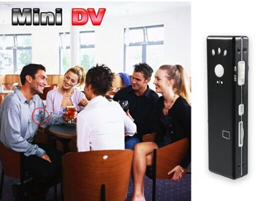 Motion Detection Chewing Gum Sized Camera MINI DV