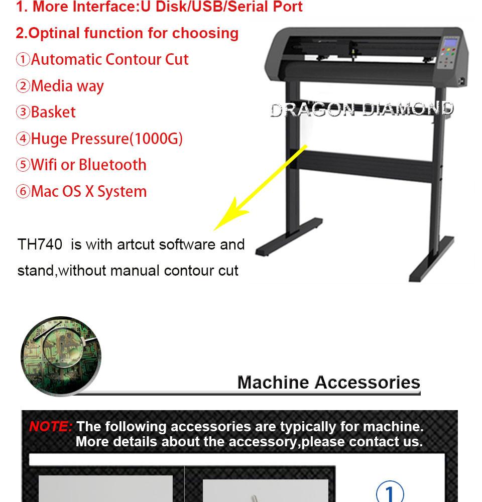 High quality cutting machine for sale desktop