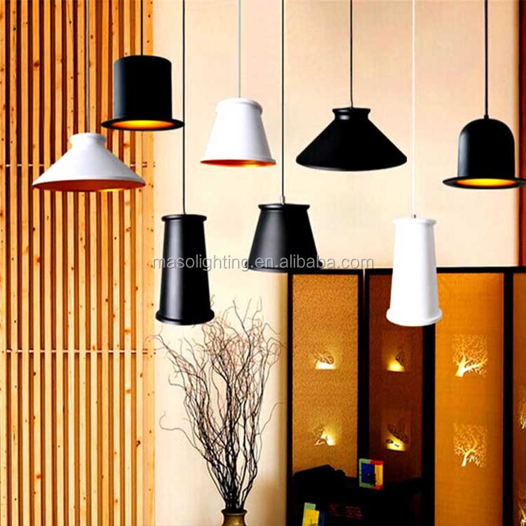 Nordic pendant light Aluminum pendant light modern decorative chandelier hanging pendant lamp for restaurant home decoration