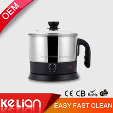 1.5L Mini Multi-function Electric caldron for egg,milk boling