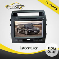 9 inch HD touch screen double din for toyota land cruiser car dvd player big screen