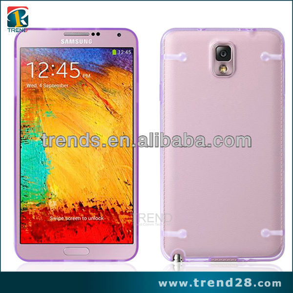 new product design clear pc hard back cover case for samsung galaxy note3