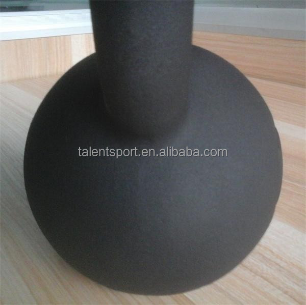 Fitness Powder Coat Kettlebell with different weight