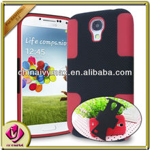 hotsale cell phone case for samsung galax s4 2 part combo