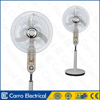 High quality emergency led lights rechargeable outdoor free standing fans