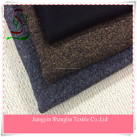 Fashion wool knit fabric for men's coats/jackets/suits