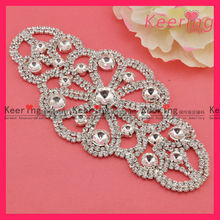Fashion bridal wedding crystal stone design for dress WRE-079