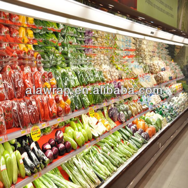 supermarket size fruits and vegetables packaging film stretch film