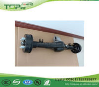 TP rear axle, 33inch 35 inch Differential Rear Axle with gear box for small car Electric tricycle