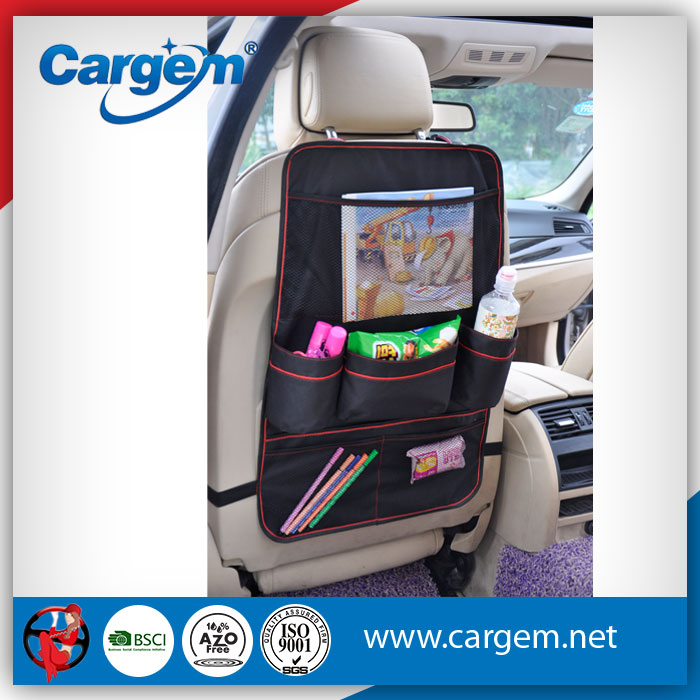 CARGEM Strict Quality Checked Back Seat Car Organizer For Kids
