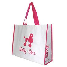 Top Fashion Trendy Style White Surface Pp Woven Shopping Bag