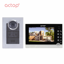 Waterproof Talking Smart Video Doorbell,Villa Video Intercom With Door Release
