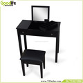 Goodlife modern design dressing table mirror with drawer