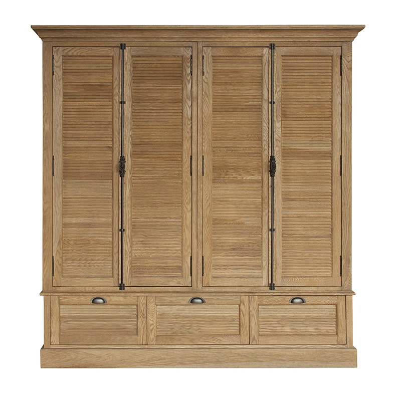 F40015A-1 American style wooden cupboard designs of bedroom oak furniture
