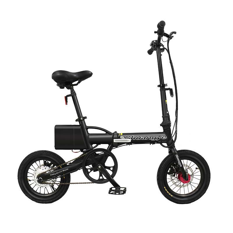<strong>14</strong> inch aluminum alloy frame mini foldable 2018 electric bike