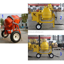 CM400L gasoline petrol engine portable mobile concrete mixer diesel cement mixer jamaica